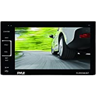 Pyle PLRDN62BT 6.5-Inch Bluetooth Touch Screen Stereo Receiver Radio Headunit, USB/SD Readers, AUX/MP3 Input and Double DIN