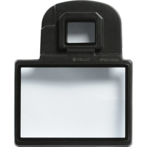 Vello Snap-On Glass LCD Screen Protector for Canon 5D Mark I