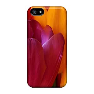 Cute Appearance Covers/hyK34574qHUo Tulip Flowers 26 Cases For Ipod Touch 4