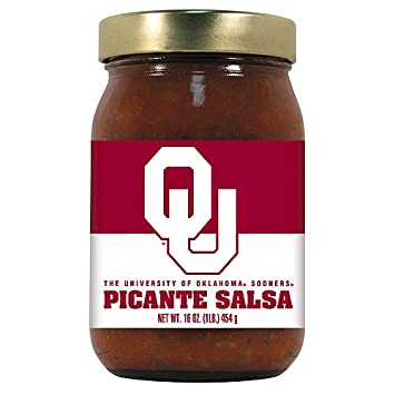 Oklahoma Sooners NCAA Picante Salsa - 16oz