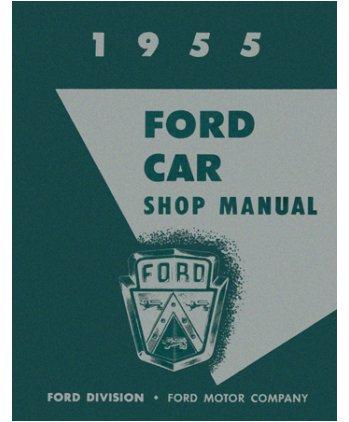 amazon com 1955 ford fairlane t bird victoria shop service repair rh amazon com 1979 Ford Thunderbird 1979 Ford Thunderbird