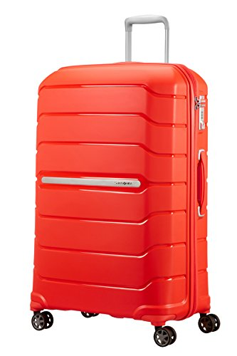 Valise rigide Samsonite Flux 81 cm Tangerine Red orange 2WaCe