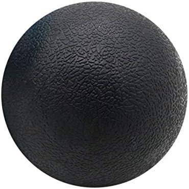 Tivollyff フィットネスリリーフジムシングルボールマッサージボールトレーニングフェイシアホッケーボール6.3 cmマッサージフィットネスボールリラックスマッスルボール