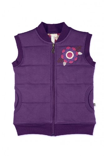 Girls Double Layer Gilet