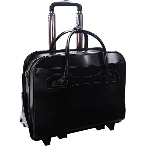 McKleinUSA WILLOWBROOK 94985 Black Detachable-Wheeled Ladies