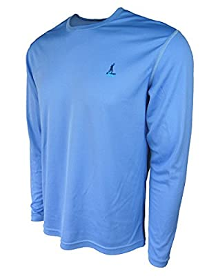 Stand Up Paddle Board Shirt - Mens Long Sleeve Dusk Blue by NALU - paddleboard apparel