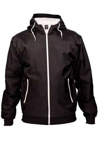 Contrast/uRBAN cLASSICS tB147 windrunner) taille s (noir/blanc-taille l