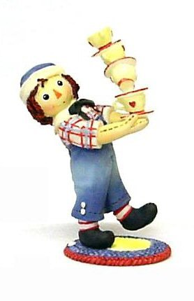 Raggedy Ann and Andy - Friendship Warms The Heart & - Ann Collectibles Raggedy And Andy