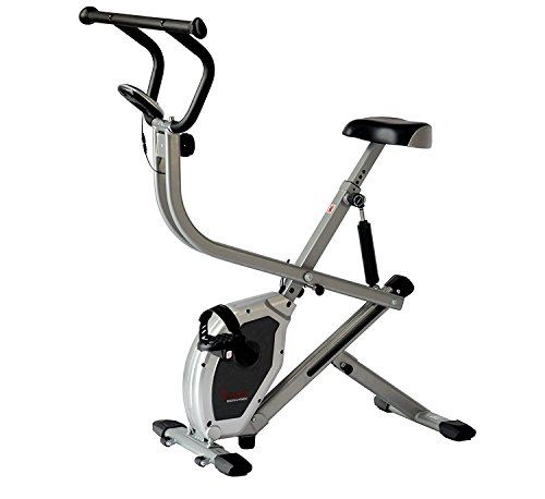 Sunny Health & Fitness Exercise Bike 2-in-1 Upright Bike ...