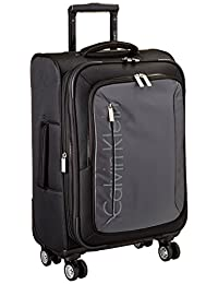 Calvin Klein Tremont 21-Inch Upright Carry-On Suitcase, Gray, One Size