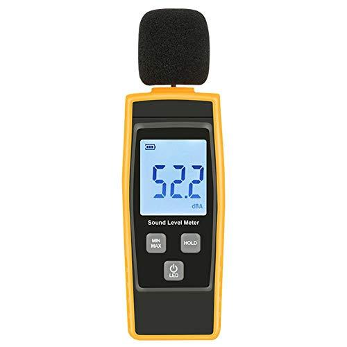 30-130dB Mini Audio Sound Level Meter Decibel Noise Measuring Instrument