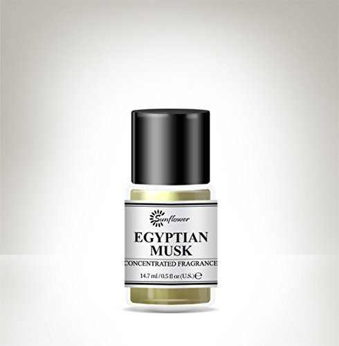 Black Top Body Oil - Egyptian Musk .5 oz. (Pack of 4) Fiske Industries