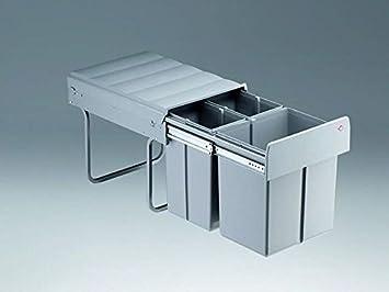 Wesco Outdoor Küchen : Wesco trio master dt liter küchen mülleimer