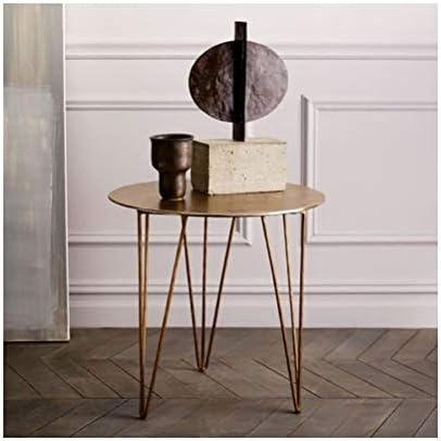 Goedkoop En Leuk Creatieve Hoek Vorm Frame Salontafel Metaal Eenvoudige Kleine Ronde Tafel Kantoor Aan Huis Decoratie Meubelen 4.11 I1aQm0r
