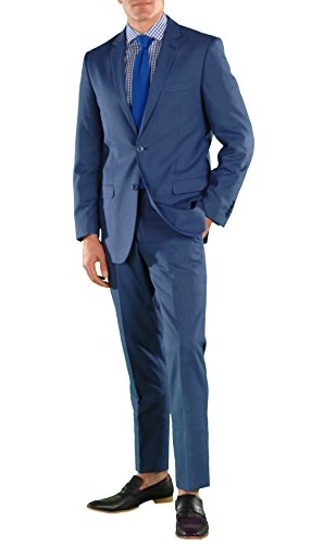 52L Ferrecci HART New Blue Slim Fit 2pc Suit