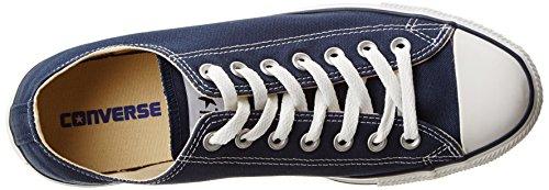 Converse Chuck Taylor All Star Canvas Basso In Alto Sneaker Blu Scuro