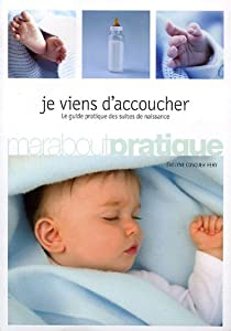 Book's Cover ofJe viens d'accoucher