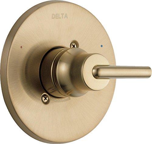 Delta Faucet T14059-CZ Trinsic, 14 Series MultiChoice Valve Trim, Champagne Bronze (Bronze Thermostatic Valve Trim)