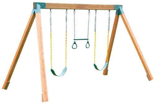 Eastern Jungle Gym Classic Cedar Swing (Natural Jungle Gym)