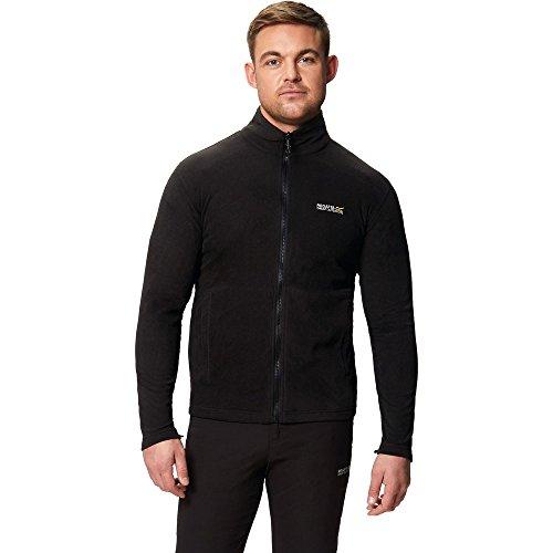 Giacca Waterproof In Regatta out Grey With 1 Uomo Telmar Hooded Fleece Ii Black 3 Zip seal PXxa1q