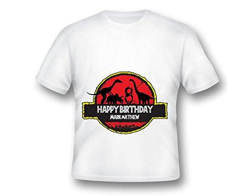 Custom Dinosaur Dino Birthday Shirt, Printed Birthday Shirt, Dinosaur Shirt, Dinosaur Birthday Shirt, Kids birthday shirt, Printed Shirt, Fabulous Shirt