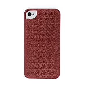 Geometric Pattern Plastic Hard Case for iphone 4/4S(Pattern B)
