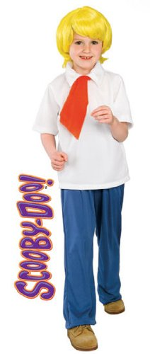 Scooby Doo Gang Halloween Costumes (Scooby-Doo Fred Child Costume Size: Medium)