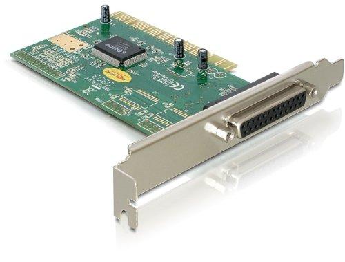 Black DeLOCK CO000100 32-Bit PCI to Female Parallel DB25 Card