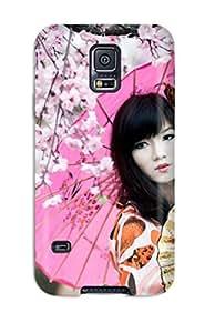 Hot Tpu Cover Case For Galaxy/ S5 Case Cover Skin - Oriental