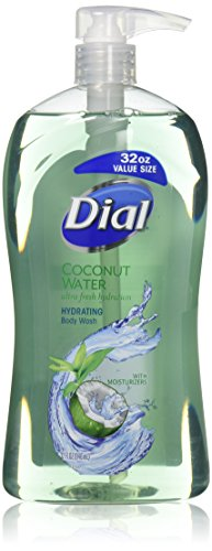 (Dial Body Wash, Coconut Water, 32 Fluid)
