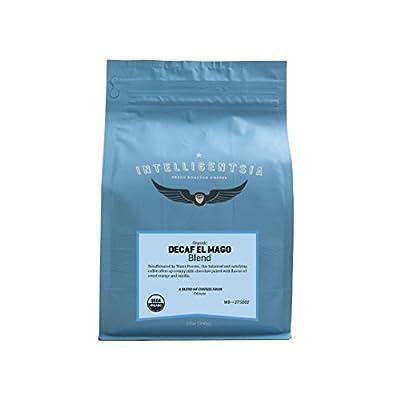 Intelligentsia Whole Bean Decaf Coffee, El Mago Blend, Medium Roast, Roasted Fresh to Order, 12oz