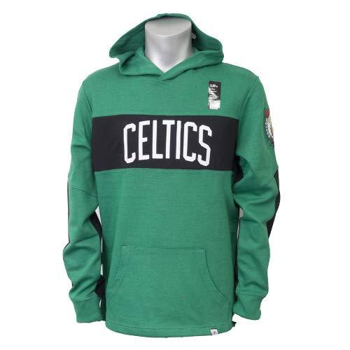 Majestic Athletic Mens Logo II Long Sleeve Hooded Fleece Brooklyn Nets