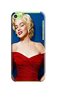 Custom Phone Protection Case Marilyn Monroe Pattern for Iphone 5c