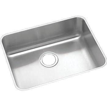 Elkay Lustertone ELUHAD211555 Single Bowl Undermount Stainless Steel ADA  Kitchen Sink