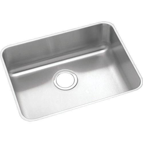 Elkay Lustertone Classic ELUHAD211555 Single Bowl Undermount Stainless Steel ADA Sink (Elkay Kitchen Sinks Undermount)