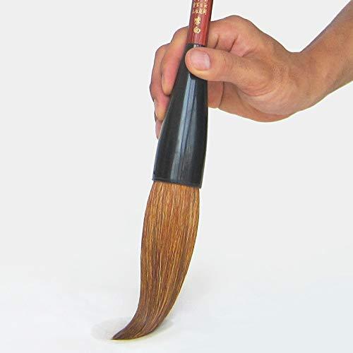 Paint Brushes | Ultra Large Hopper|shaped Brush Writing Brushes Long Bucket Pen Regular Script Festival Couplets Painting Calligraphy Pen Brush | by -