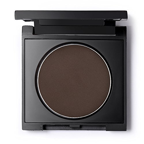 Professional Cake Eyeliner Powder, Long Lasting Black Eyeliner Pressed Powder, Smudge-proof and Cruelty Free 0.12Oz (Coffee)