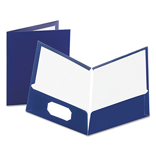 Laminated Two-Pocket Portfolios (Esselte Business Card Holder)