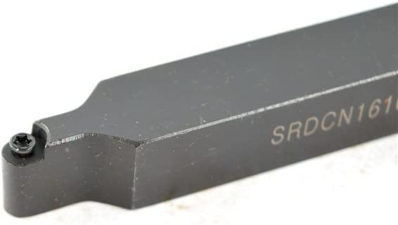 1PCS SRDCN 1616H08 Carbide CNC Lathe Indexable Excircle Turning Tool Holder Boring Bar For RCMT0803MO Overall length 4 1616 mm Shank Diameter 5//8 100 mm