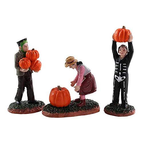 Lemax - Spooky Town Pumpkin Pickers - Set of 3#82565 ()