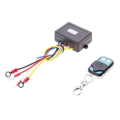 Baoblaze Auto Replacement 12V Wireless Winch Remote Control Kit for Car Vehicles KLS-997