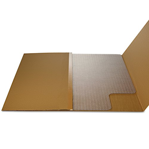 deflecto CM11112 36 x 48 w/Lip Clear EconoMat Occasional Use Chair Mat for Low Pile by Deflect-O (Image #10)