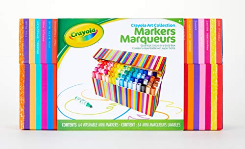(Crayola Pip Squeaks Kids' Marker Collection, Washable Mini Markers, 64Count, Gift for Kids (Amazon Exclusive))