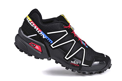 Price comparison product image Salomon SPEEDCROSS 3 Running shoes MYMY® Fashion Women's Shoes waterproof shoes Black silver7.5 D(M)US=39EU