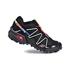 Salomon SPEEDCROSS 3 Running shoes MYMY® Fashion Women's Shoes waterproof shoes Black silver