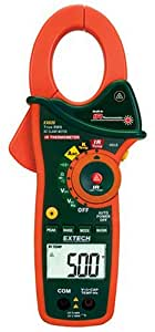 Extech EX820 True RMS 1000A Clamp Meters with Infrared Thermometers
