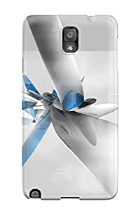 First-class Case Cover For Galaxy Note 3 Dual Protection Cover Abstract Abstract