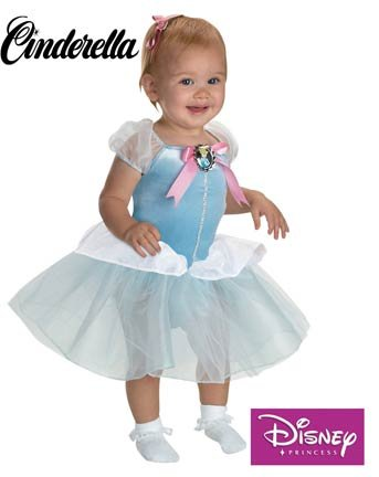 Costumes Infant Cinderella (Cinderella Ballerina Costume: Baby's Size 12-18)