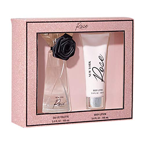 New York & Co. New York Rose Fragrance Lotion Gift Medium Pink ()