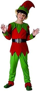 Disfraz elfo niño - 4 - 6 años: Amazon.es: Juguetes y juegos